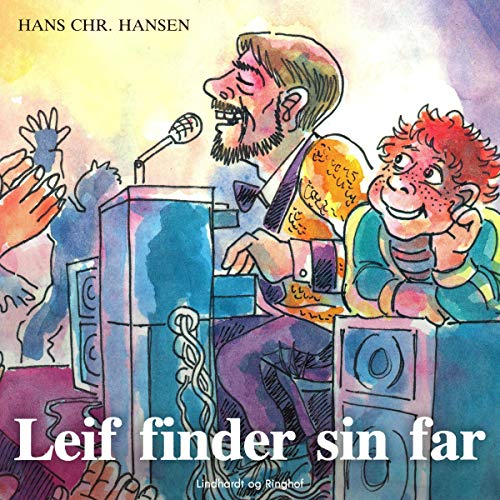 Leif finder sin far audiobook cover art