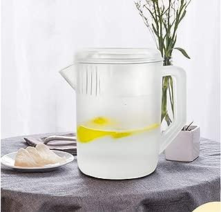 HERF Polycarbonate Plastic Water Pitcher Pot Jug 1.5L Transparent