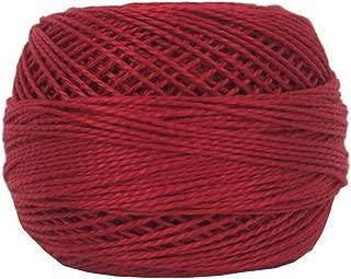 DMC Bulk Buy Thread Pearl Cotton Balls Size 8 95 Yards Red 116 8-321 (10-Pack)