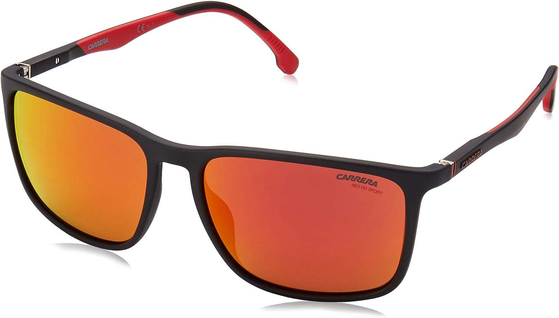 Carrera - CARRERA 8031 S Rectangular Max 51% OFF Unisex Max 61% OFF Sunglasses Bkrtcryrd