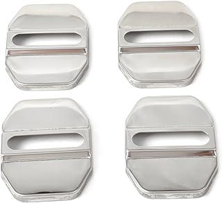 4 Stück Auto Türstopper Deckel Verschluss Gürtelschnalle Schutzfolie für Mercedes Benz B C E GLK ML SLK Klasse