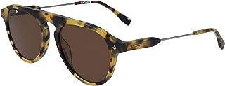 نظارة شمسية للرجال من لاكوست، بني ، 53 ملم - L603SND