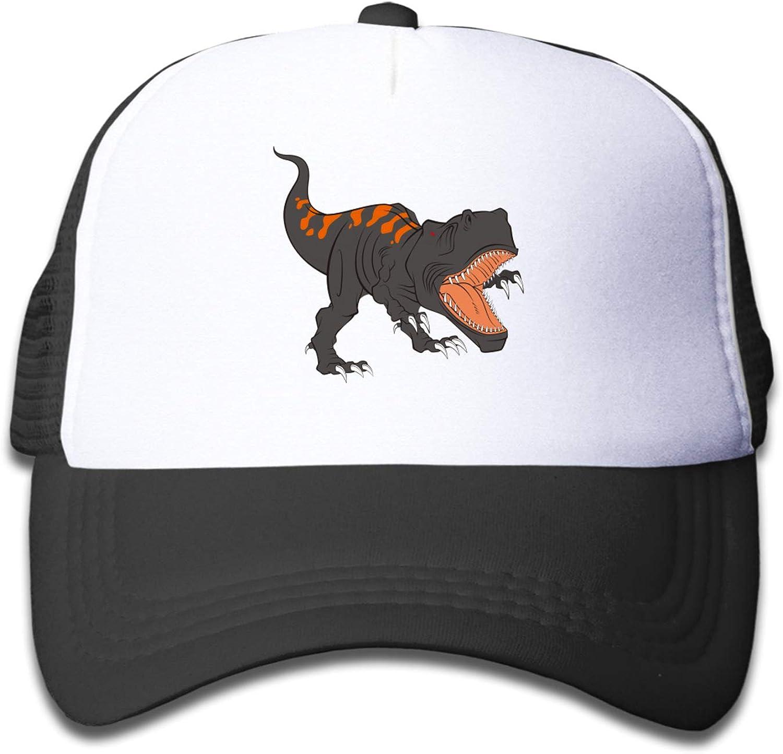 PTCTWD Boys and Girls Dinosaur Mesh Hats Baseball Trucker Cap Gift Youth Toddler