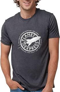 CafePress Planet Express Logo Dark Mens Tri-blend T-Shirt