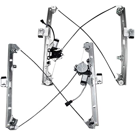 LAFORMO Front Driver Side Power Window Regulator with Motor Assembly Compatible with Silverado//Tahoe//Suburban//Avalanche 1500 2500 3500 00-06 Cadillac Escalade 02-06 GMC Yukon XL//Sierra