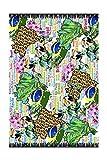 Fular mujer Animal Print - Colorido sin igual - Tamaño ideal para utilizar como foulard, chal, pareo, blusa, turbante, vestido. ¡Alta calidad en un producto exclusivo y diferente!