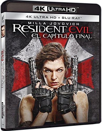 Resident Evil: El Capítulo Final (4K UHD + BD)...