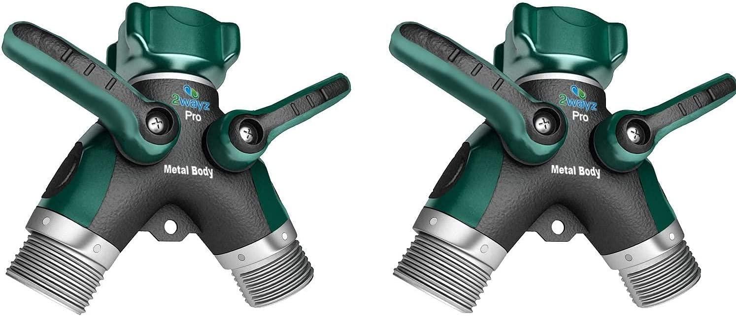 2wayz 2 X Metal Body Hose Splitter. : Newly 100% Upgraded 2021 Overseas free parallel import regular item