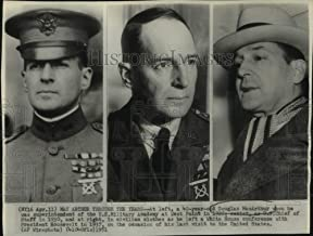 1951 Press Photo Three Stages of Life of Douglas MacArthur - mjc33115 - Historic Images