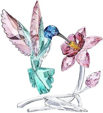 SWAROVSKI Hummingbird Crystal Figurine Multi-Coloured 14.7