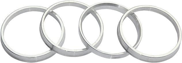 4pc Aluminum Hubrings 64.1mm Car Hub to 73mm Wheel Bore ID 64.1 OD 73
