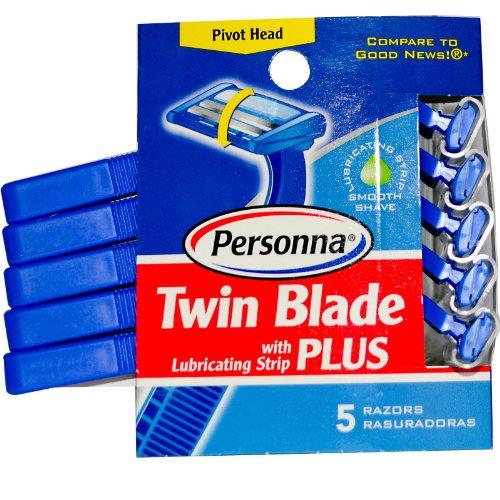 Personna - módulo doble además de maquinillas de afeitar desechables