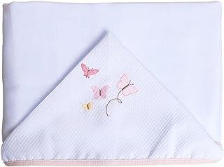 Toalhas De Fralda Especial Bordados, Papi Textil, Rosa