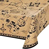 Tischdecke * Pirate Treasure * als Deko für Kindergeburtstag und Mottoparty | 137x259cm | Kinder Geburtstag Party Table Cover Pirat Piratenschatz