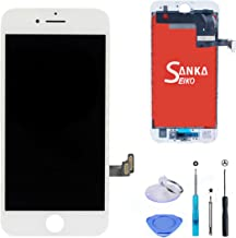 SANKA iPhone 7 LCD Display Screen Replacement Repair Kit, Digitizer Retina 3D Touch Screen Glass Frame Assembly for iPhone 7,4.7