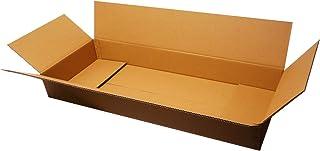 ボックスバンク ダンボール(段ボール箱)180サイズ(110×45×15cm) 2枚セット 2つ折り配送 ギター 引越し 大型 FU01-0002