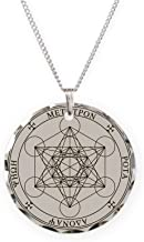 CafePress Seal Of Archangel Metatron Necklace Charm Necklace with Round Pendant