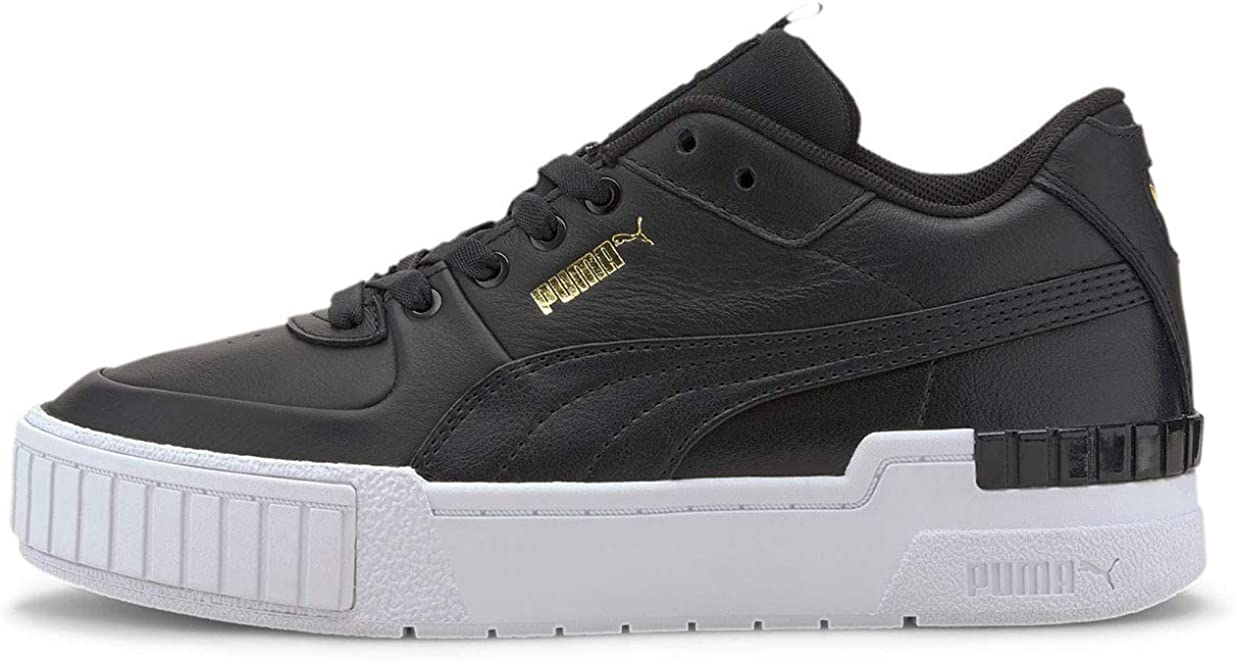 PUMA Womens Cali Sport Mix Suede Lifestyle Fashion Sneakers