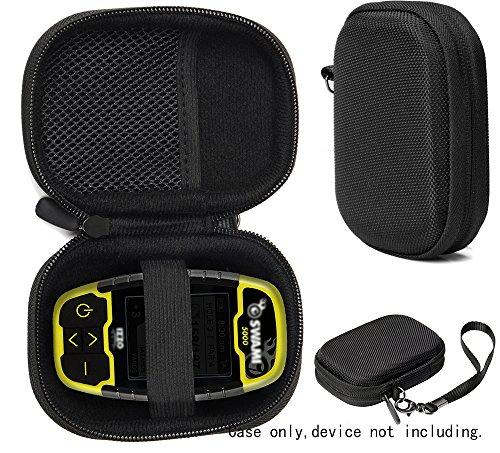 CaseSack Golf GPS Case, Specially Designed for Izzo Swami 4000+ Golf GPS, and Swami 4000, 5000, 6000 Golf GPS Rangefinder; Garmin Approach G30, G6, G7 (Black)