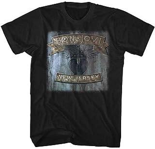 BON JOVI ボン・ジョヴィ (デビュー35周年記念) - NEW JERSEY/Tシャツ/メンズ 【公式/オフィシャル】