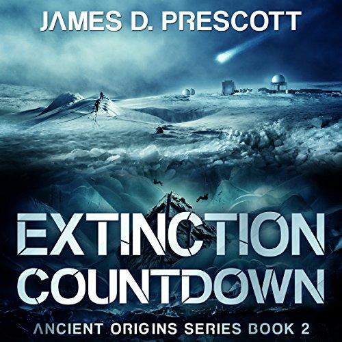 Extinction Countdown audiobook cover art