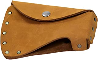 Hide & Drink, Durable Leather Hatchet Head Sheath/Axe Case/Blade Cover/Lumberjack Essentials, Handmade :: Old Tobacco