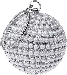 Santimon Clutch Damen Abendtasche Handtasche Abend Handtaschen Diamant Unterarmtasche Hochzeit Party Tasche Luxus