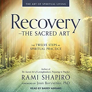 Recovery - the Sacred Art audiobook cover art