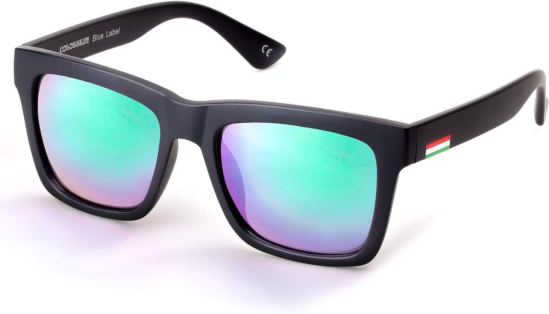 Colossein Miami Mall Classic Polarized Sunglasses For Square Wholesale Men Frame Mirr