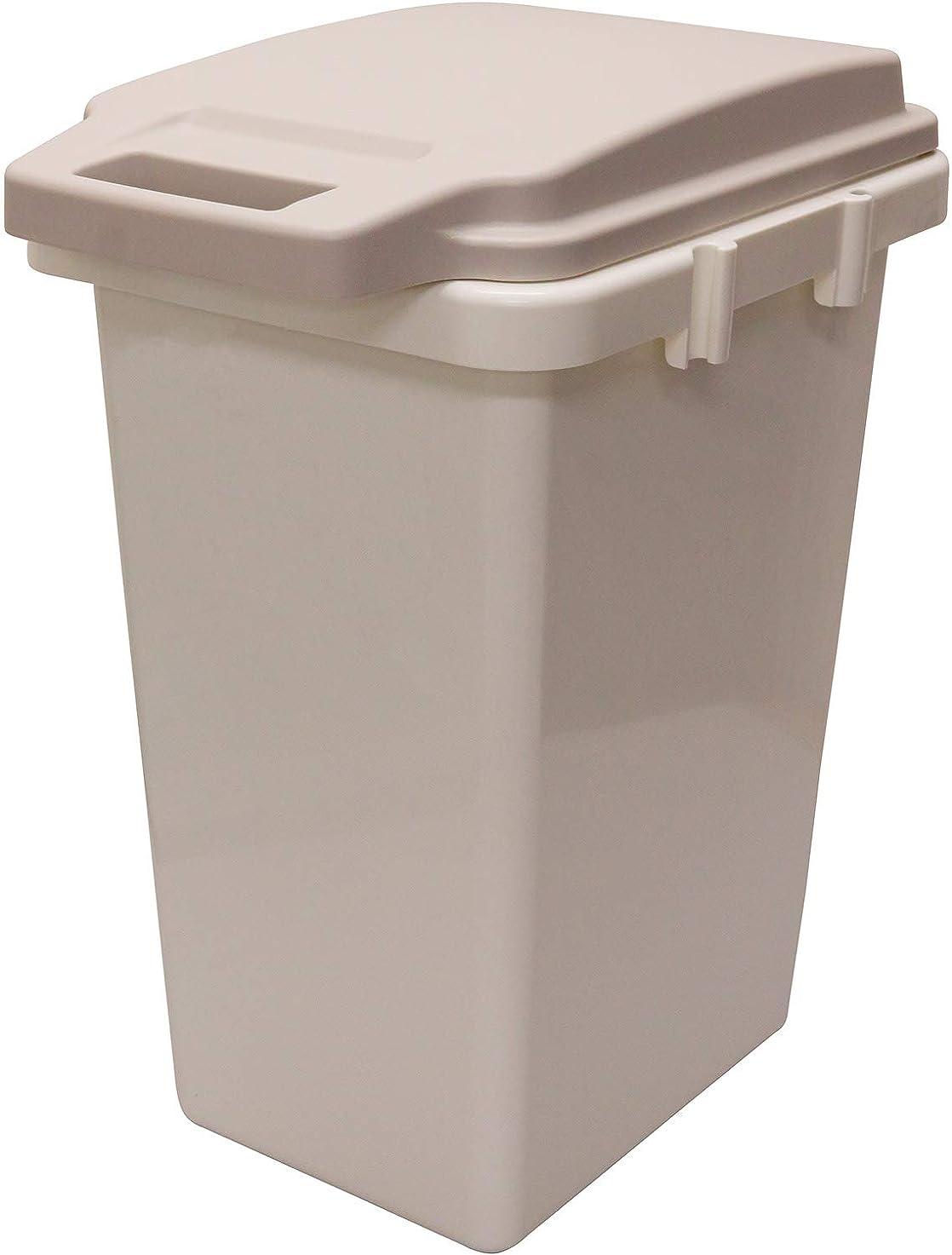 リス パッキン付きゴミ箱 ワンハンドパッキンペール 45L