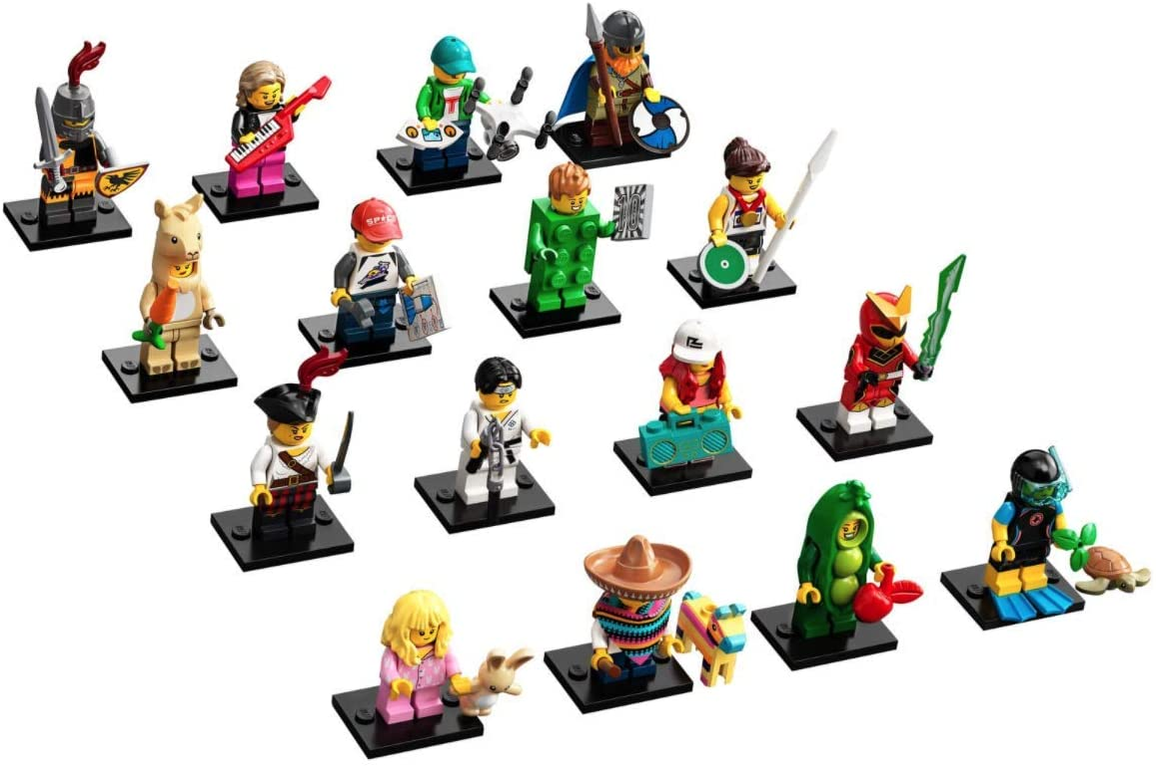 Lego minifigures series 7 unopened sealed random mystery blind bag packet