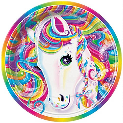 Lisa Frank 'Majesty' Large Paper Plates (8ct)