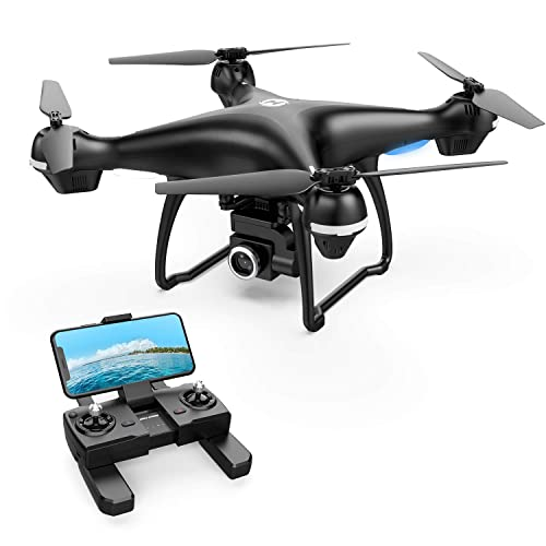 Holy Stone GPS FPV RC Drone HS100 with 2K HD Camera Live Video and GPS Return Home Quadcopter with Adjustable Wide-Angle WiFi Camera Follow Me, Altitude Hold, Intelligent Battery Long Control Range
