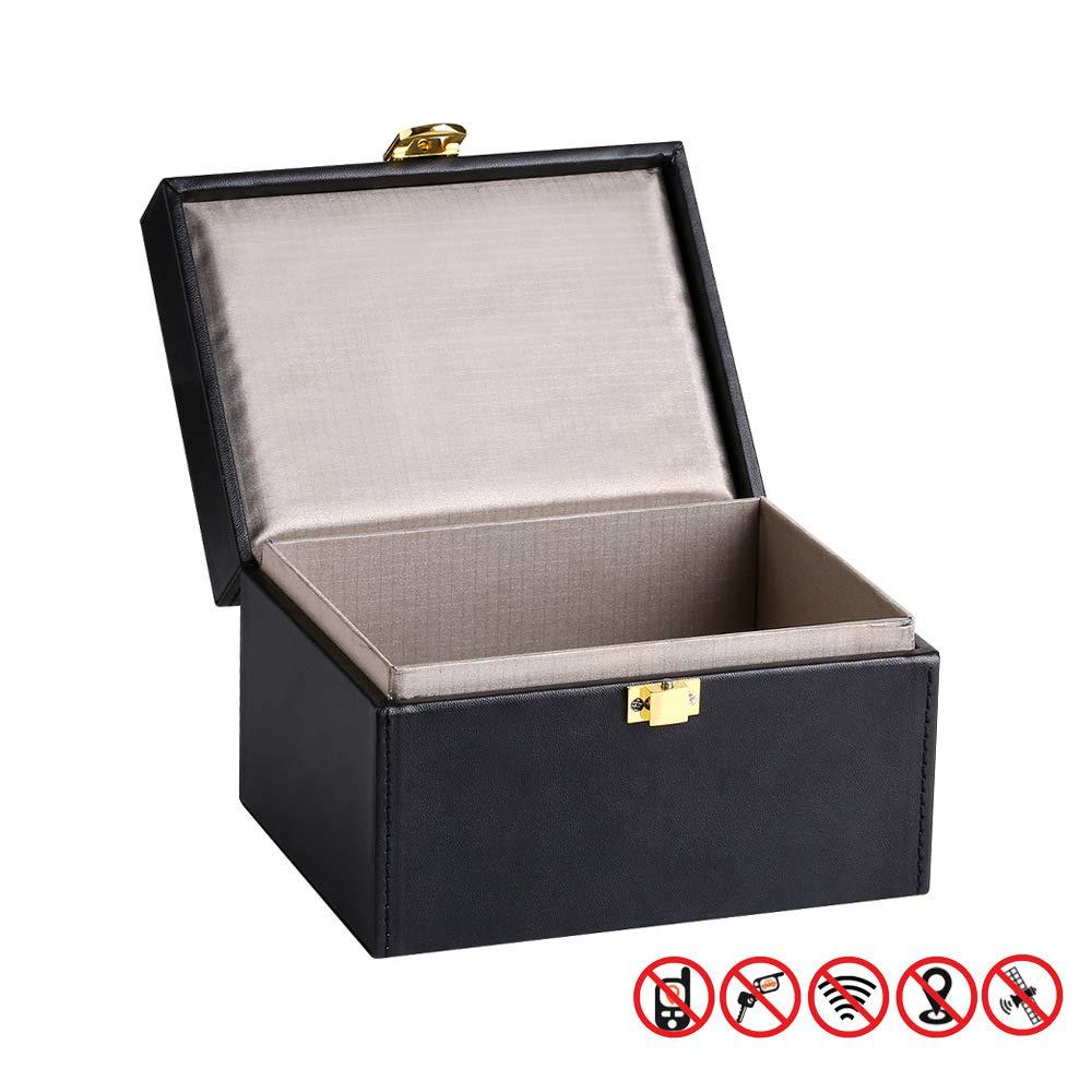 ZHAOHE - Carcasa Protectora para Llave de Coche, Caja Faraday, Caja de señal, RFID, Bloqueo de la Carcasa: Amazon.es: Jardín