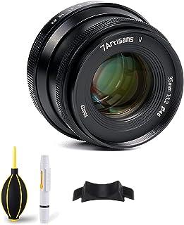7artisans 35mm f1.2 ii fuji FXマウント 交換レンズ 手動フォーカス APS-C 単焦点 レンズ 人文記録/風景/室内の撮影にお薦め X-A1 X-A10 X-A2 X-A3 A-AT X-M1 XM2 X-T1 X...