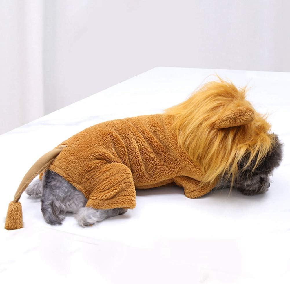 Poseca Dog Lion Costume Funny Costume For Dogs Halloween Dog Costume Christmas Dog Csotume Pet Costume for Dogs Cats Halloween Fancy Dress