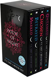 House of Night Set: Marked, Betrayed, Chosen, Untamed