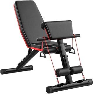 comprar comparacion Banco de pesas plegable ejercicios entrenamiento Entrenador de espalda Estación de energía prensa Banco inclinado multifun...