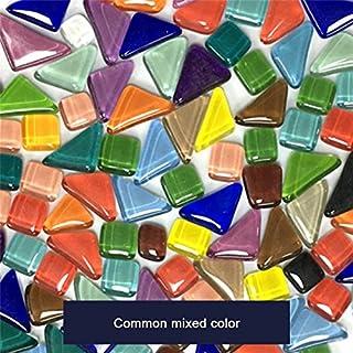 ASSR Lot de 570carreaux de mosaïque faits à la main pour enfants Couleurs et formes mixtes s Mélange de couleurs communes.