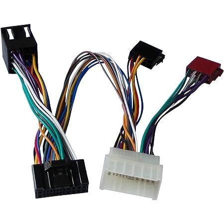 Nissan 2 Radio Adapter Car Radio Adaptor Din Iso Elektronik