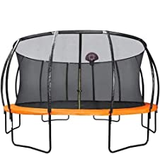 HMBB Trampoline Children's Indoor Outdoor Square Home Bounce Bed Commercial Adult with Guard Net Grote basketbalbounce bed