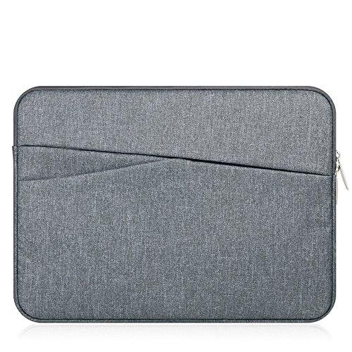 11.6 Inch Laptop Sleeve Case Bag for 11.6 HP Chromebook, Pavilion, Stream/Surface Pro 6/12.5 Lenovo Chromebook C330/12.2 Samsung Chromebook Plus V2/Google Pixelbook Go M3/Dell Chromebook 11.6 (Grey)