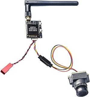 AKK KC03 2.8MM 120 Degree 800TVL NTSC Switchable Camera with 600mW FPV Transmitter