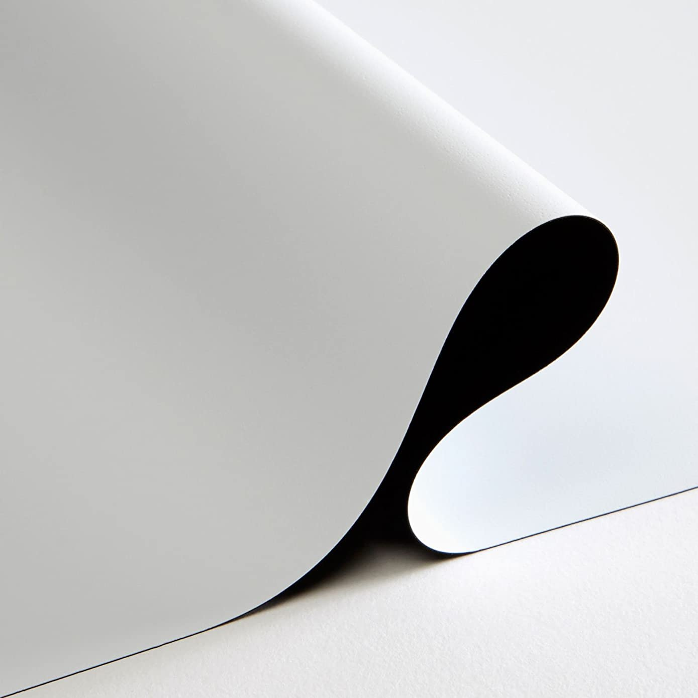 Carl's FlexiWhite Projector Screen Material (16:9 | 71x126 | 144-in | Rolled) 4K, HD, Active 3D, Matte White, DIY Projector Screen, Dark Rm, Controlled Ambient Light, Tensioned, Raw Pre Cut Cloth