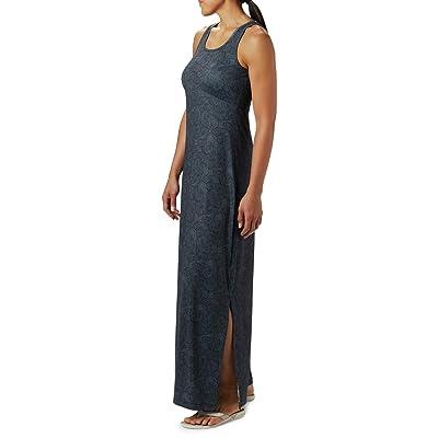 Columbia Freezertm Maxi Dress (Black Seaside Swirls) Women