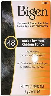 Sponsored Ad - Bigen Powder Hair Color #48 Dark Chestnut 0.21oz (3 Pack)