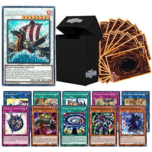 Totem World Legendary Bundle: 1 Secret, 10 Rare & 90 Yugioh Cards with...