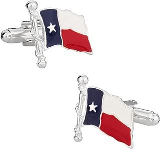 Cuff-Daddy Texas Lone Star State Cufflinks with Presentation Box
