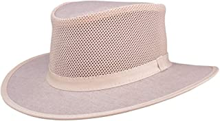 Explorer by American Hat Makers Mesh Leather Hat