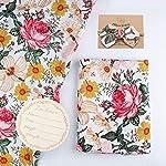 Burt's Bees Baby – Cable Knit Blanket, Baby Nursery & Stroller Blanket, 100% Organic Cotton, 30″ x 40″ (Heather Grey)